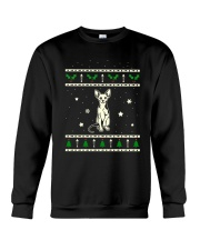 Christmas Sphynx Cat Crewneck Sweatshirt thumbnail
