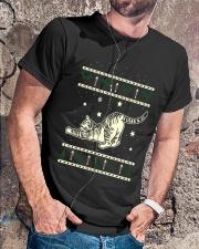 Christmas Tabby Cat Premium Fit Mens Tee lifestyle-mens-crewneck-front-4