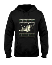 Christmas Tabby Cat Hooded Sweatshirt thumbnail