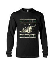 Christmas Tabby Cat Long Sleeve Tee thumbnail