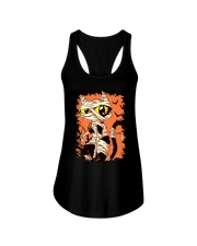 HALLOWEEN CAT Ladies Flowy Tank thumbnail