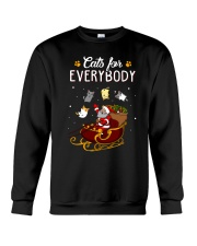 CATS FOR EVERYBODY Crewneck Sweatshirt thumbnail