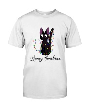 CAT MERRY CHRISTMAS Classic T-Shirt thumbnail