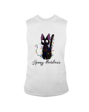 CAT MERRY CHRISTMAS Sleeveless Tee thumbnail