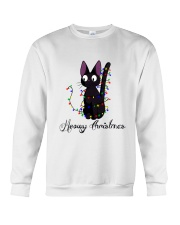 CAT MERRY CHRISTMAS Crewneck Sweatshirt thumbnail
