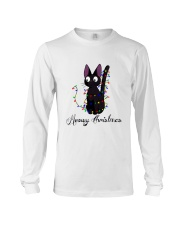 CAT MERRY CHRISTMAS Long Sleeve Tee thumbnail