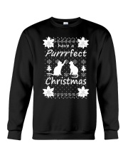 CAT CHRISTMAS Crewneck Sweatshirt thumbnail