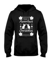 CAT CHRISTMAS Hooded Sweatshirt thumbnail
