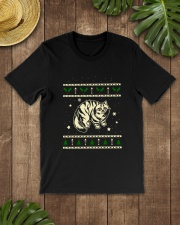 Christmas Siberian Cat Premium Fit Mens Tee lifestyle-mens-crewneck-front-18