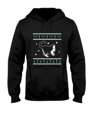 Christmas Selkirk Rex Cat Hooded Sweatshirt thumbnail