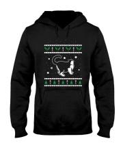 Christmas Selkirk Rex Cat Hooded Sweatshirt thumbnail