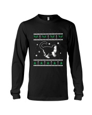 Christmas Selkirk Rex Cat Long Sleeve Tee thumbnail