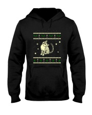 Christmas Egyptian Mau Cat Hooded Sweatshirt thumbnail