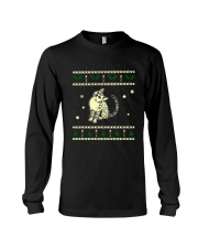 Christmas Egyptian Mau Cat Long Sleeve Tee thumbnail