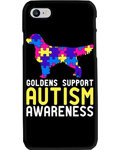 Golden Support Autism Awareness