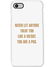Never let anyone treat you like a VO SOT Phone Case thumbnail