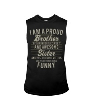 I'm a proud brother of a wonderful awesome sister Sleeveless Tee thumbnail