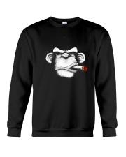Cigar Monkey Crewneck Sweatshirt thumbnail
