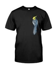 Normal Gray Cockatiel Classic T-Shirt front