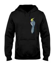 Normal Gray Cockatiel Hooded Sweatshirt thumbnail