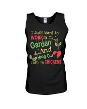 Garden and Chickens Lovers Unisex Tank thumbnail