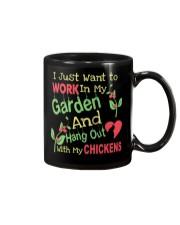 Garden and Chickens Lovers Mug thumbnail