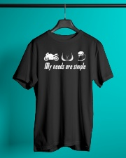MY NEED ARE SIMPLE Classic T-Shirt lifestyle-mens-crewneck-front-3