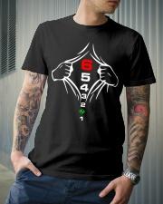 1 N 2 3 4 5 6 Classic T-Shirt lifestyle-mens-crewneck-front-6