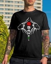 1 N 2 3 4 5 6 Classic T-Shirt lifestyle-mens-crewneck-front-8