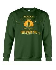TO MY SON Crewneck Sweatshirt thumbnail