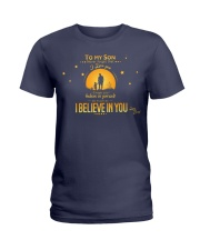TO MY SON Ladies T-Shirt thumbnail