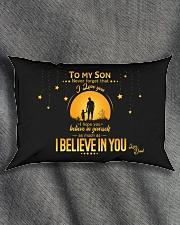 TO MY SON Rectangular Pillowcase aos-pillow-rectangle-front-lifestyle-1