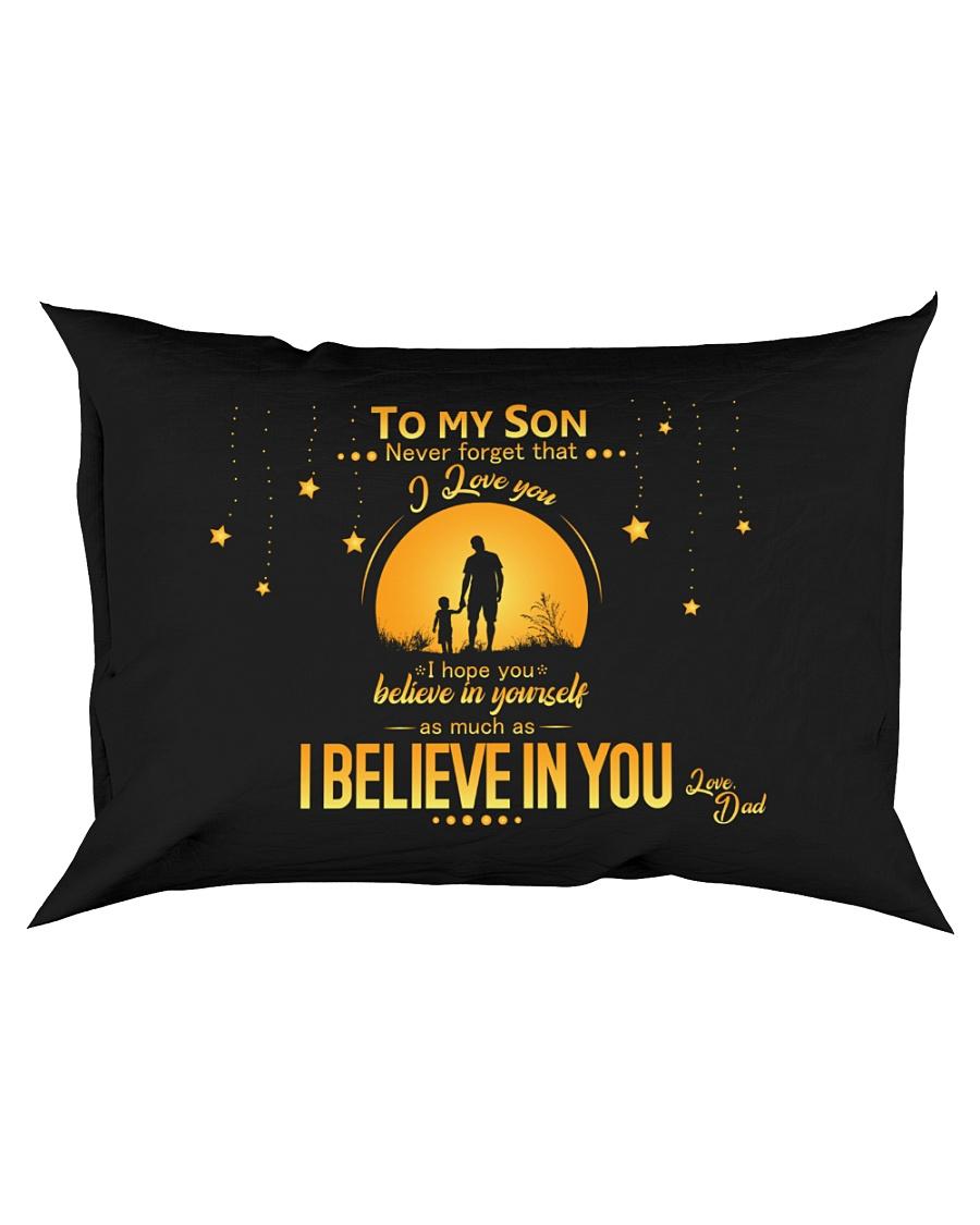 TO MY SON Rectangular Pillowcase