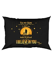 TO MY SON Rectangular Pillowcase front