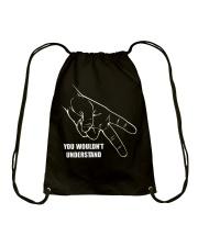 BIKER CODE Drawstring Bag thumbnail
