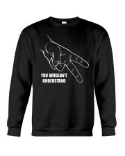 BIKER CODE Crewneck Sweatshirt thumbnail