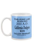 Time-Zone Labs Headline News Mug back