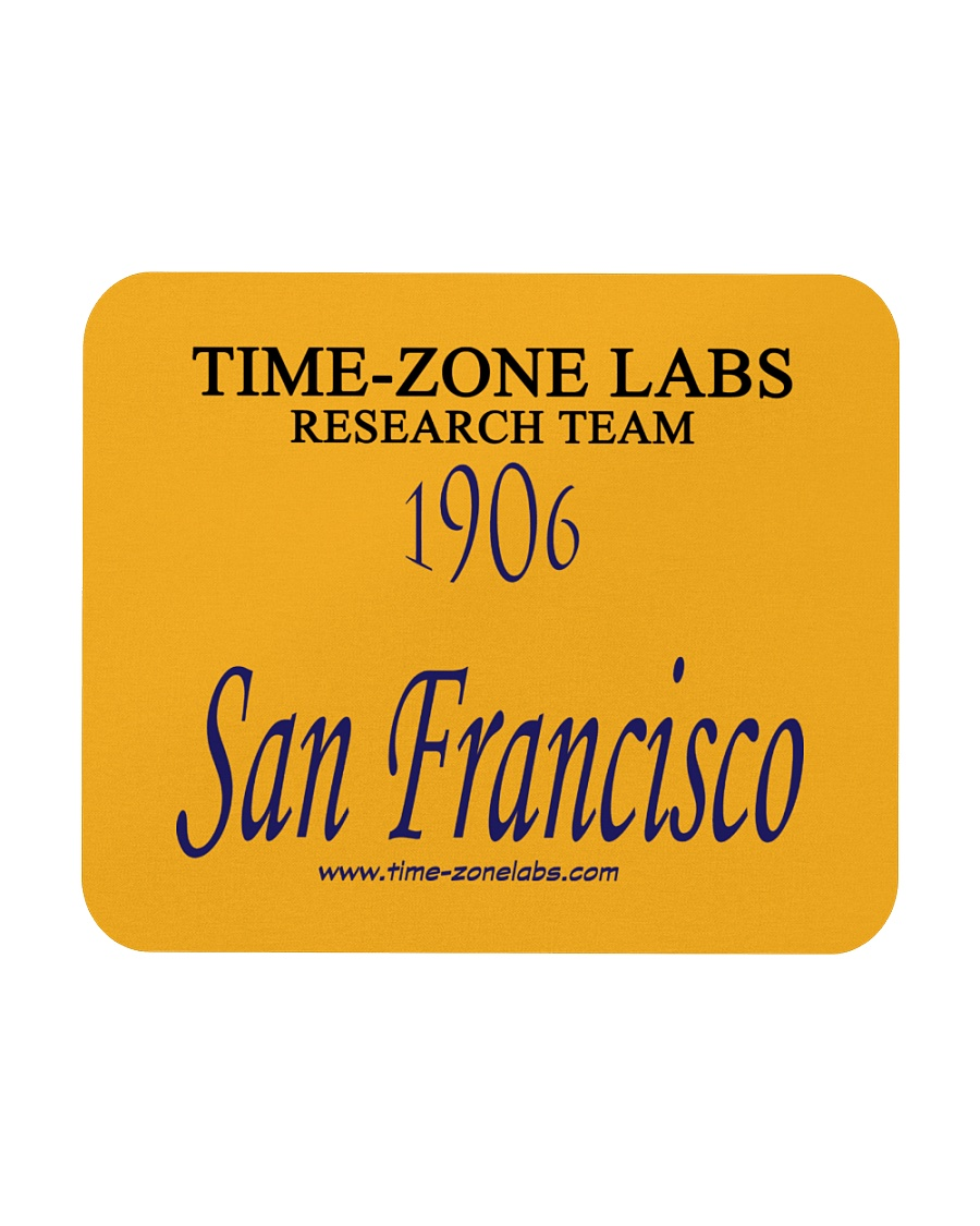 Time-Zone Labs Mouse Pad Mousepad