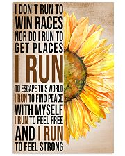 I run to find peace with myself PROMO 11x17 Poster front