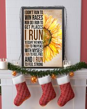 I run to find peace with myself PROMO 11x17 Poster lifestyle-holiday-poster-4