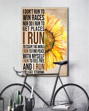 I run to find peace with myself PROMO 11x17 Poster lifestyle-poster-7
