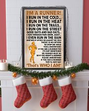 I am a runner poster female 11x17 Poster lifestyle-holiday-poster-4