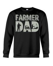 Mens Farmer Dad Shirt Farm Farming Father's  Crewneck Sweatshirt thumbnail