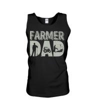 Mens Farmer Dad Shirt Farm Farming Father's  Unisex Tank thumbnail