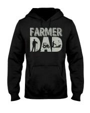 Mens Farmer Dad Shirt Farm Farming Father's  Hooded Sweatshirt thumbnail