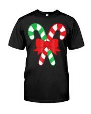 Candy Canes Christmas Shirt - Holiday Christ Classic T-Shirt thumbnail
