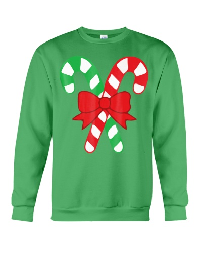 Candy Canes Christmas Shirt - Holiday Christ