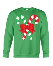 Candy Canes Christmas Shirt - Holiday Christ Crewneck Sweatshirt front