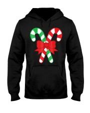 Candy Canes Christmas Shirt - Holiday Christ Hooded Sweatshirt thumbnail