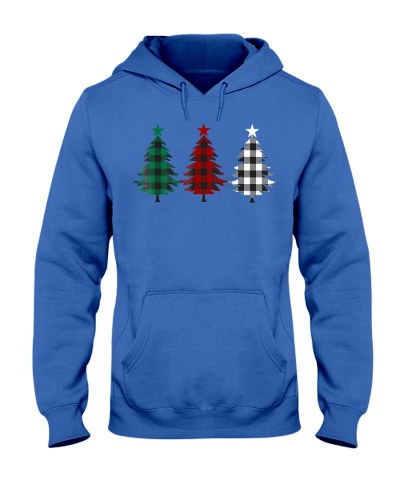 Buffalo Plaid Christmas Trees Shirt for